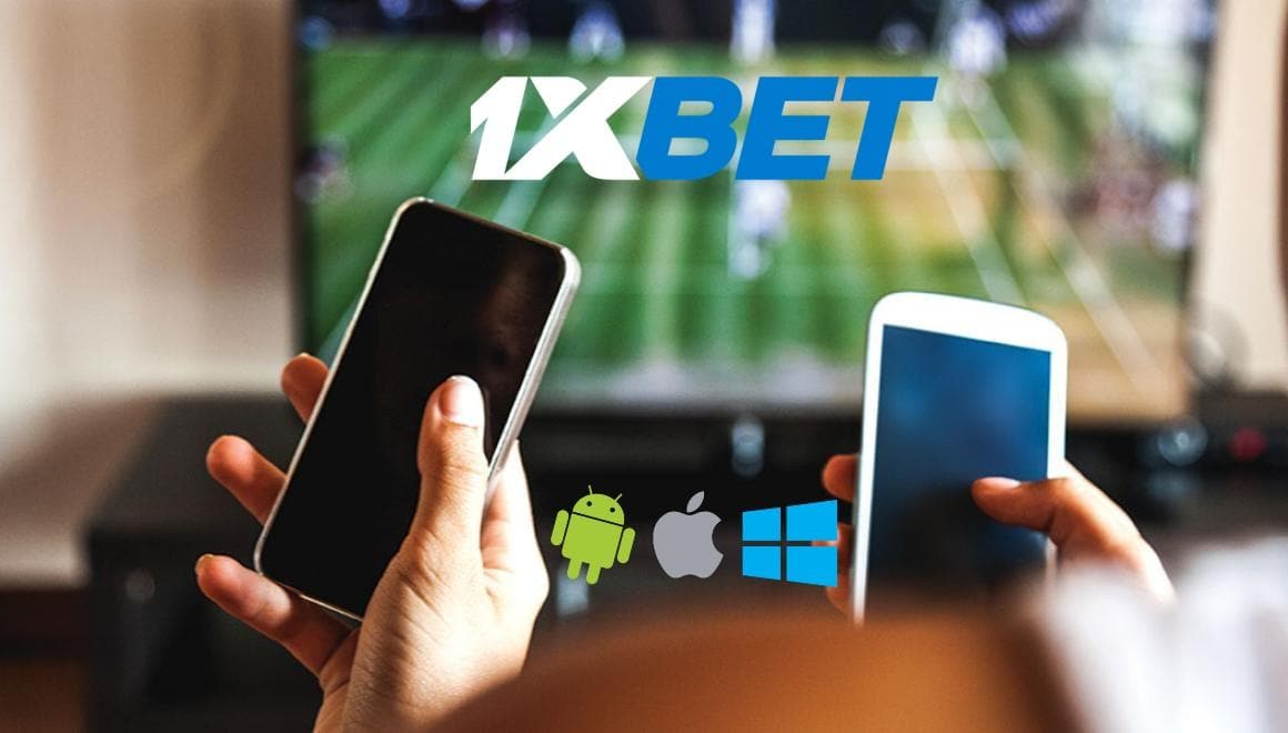 1XBet mobile sports betting