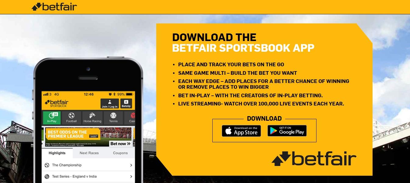 Betfair Mobile App download