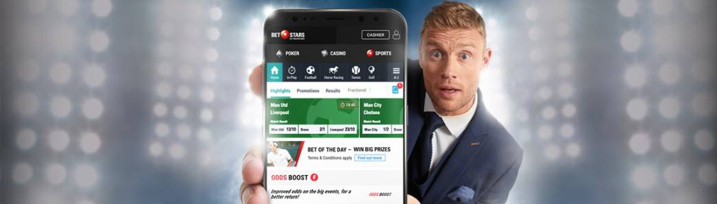 Mobile app BetStars