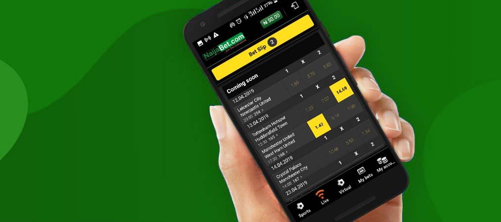 NaijaBet mobile platform